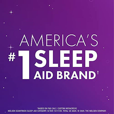 ZzzQuil, Nighttime Sleep Aid LiquiCaps, 25 mg Diphenhydramine HCl, No.1 Sleep-Aid Brand, Non-Habit Forming, Wake Refreshed, 24 LiquiCaps