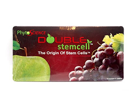 PhytoScience 5 Double StemCell & 1 SnowPhyll Snow Algae Chlorophyll Anti Aging Supplements by Phytoscience Free Expedited