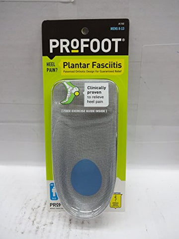 PRF956250EA - Profoot, Inc Profoot Smart Arch Mens Orthotics