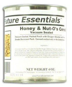 1 Can of Future Essentials Canned Honey & Nut-O's Cereal