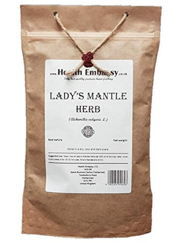 Ladys Mantle Herb Tea (Alchemilla Vulgaris) 50g - Health Embassy - 100% Natural