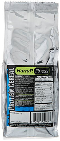 Harry P. Fitness Protein Cereal, Strength Breakfast, 16 Ounce