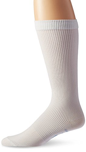 JOBST for Men Knee High Closed Toe Compression Stockings, High Quality, Extra Firm Legware for All Day Comfort for Males, with Odor Control Technology, Compression Class- 15-20