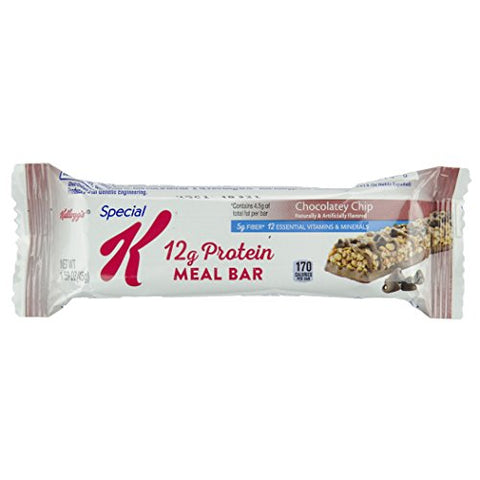 Kellogg's, Special K Protein Bars Chocolate Chip, 1.58oz. (48count)