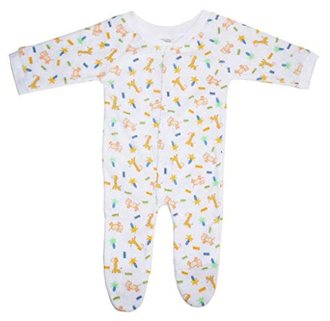 Bambini One Pack Terry Sleep & Play (Pack of 2)