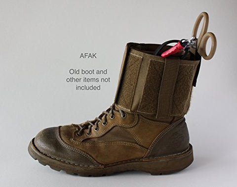 The Tactical Medic AFAK - Ankle First Aid Kit (Tan)