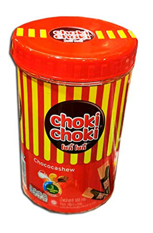 Choki Choki Chocolate Cashew Sticks (100 Sticks) 500 g. // By Benjawan Shop