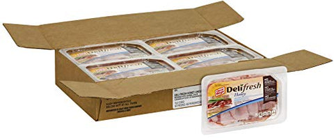 Oscar Mayer Deli Fresh Meat Shaved Honey Ham, 9 Ounce -- 8 per case.