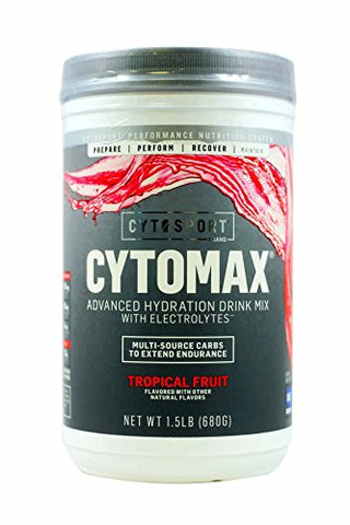 CytoSport Cytomax Sports Performance Mix, Tropical Fruit, 1.5 Pound