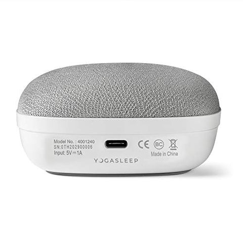 Yogasleep Travelcube Portable Sound Machine with Timer | Sound Machine for Travel, Office Privacy, Sleep Therapy | for Adults & Baby | 101 Night Trial