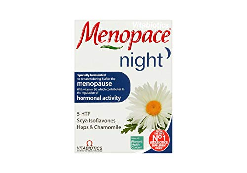 Menopace Night (30 Tablets) x by Vitabiotics