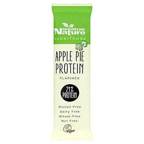 Creative Nature Apple Pie Protein Flapjack - 40g (0.08 lbs)