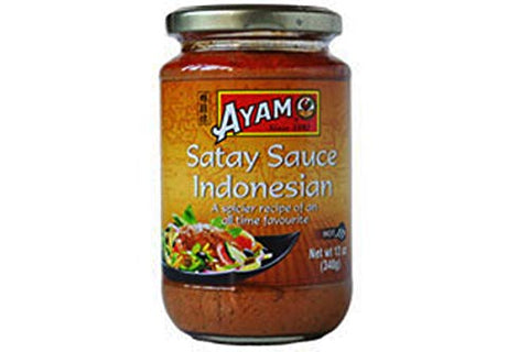 Satay Sauce Indonesian Style - 12oz (Pack of 2)