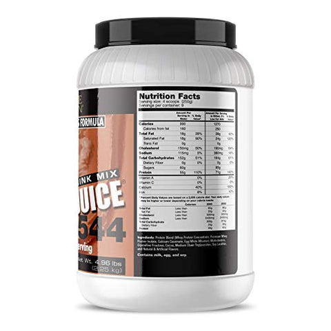Ultimate Nutrition Muscle Juice 2544 Classic Gainer Protein (Chocolate, 5 Pounds)