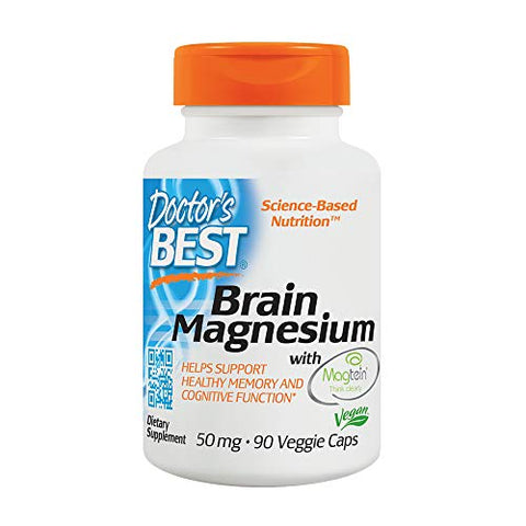 Doctorâ??S Best Brain Magnesium, Magnesium L Threonate, Brain, Memory & Learning, Mood, Stress, Hear