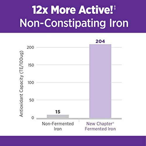 New Chapter Iron Supplement, Fermented Iron Complex (Formerly Iron Food Complex) With Organic Whole