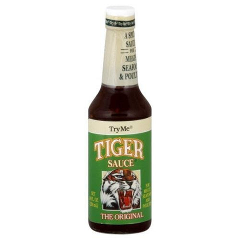 Try Me Tiger Sauce 10 OZ (Pack of 12)