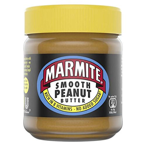 Marmite Peanut Butter Smooth 225g Delicious Breakfast Spread