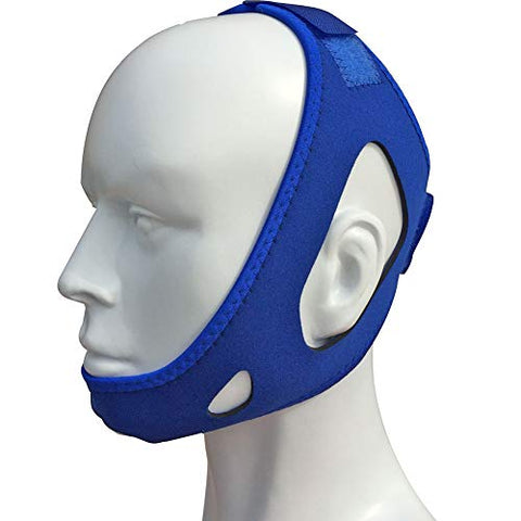 Anti Snoring Chin Strap-Most Effective Snoring Solution by Mostcare,Comfortable Natural Stop snoring Chin Straps,Advanced Anti Snoring Devices,Stop Snoring Sleep Aid for Men and Women?(Blue)