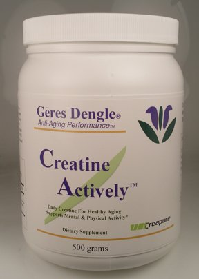 Geres Dengle CREATINE ACTIVELY(TM) Daily Creatine for Healthy Aging. 500 Grams (1)