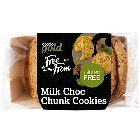 Ocado Gold Free From Cookies Milk Choc Chunk - 235g (0.51 lbs)