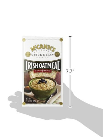 Mccann's Quick and Easy Steel Cut Irish Oatmeal, 16 Ounce