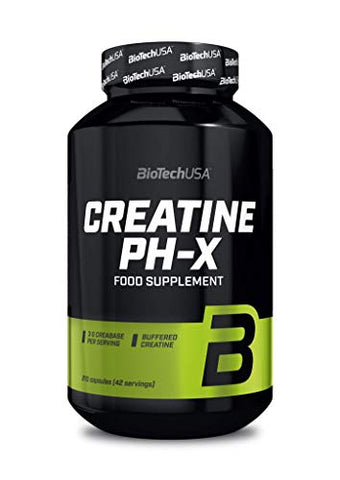 Creatine PH-X - 210 Capsules - Biotech