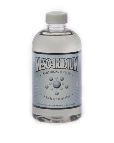 Meso Iridium â?¢ 10 Ppm Colloidal Iridium 250 M L/8.45 Oz