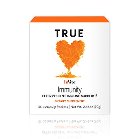 True by Invite Immunity, Supports Your Immune System and enhances Energy, 10 Packets (Pack of 1)