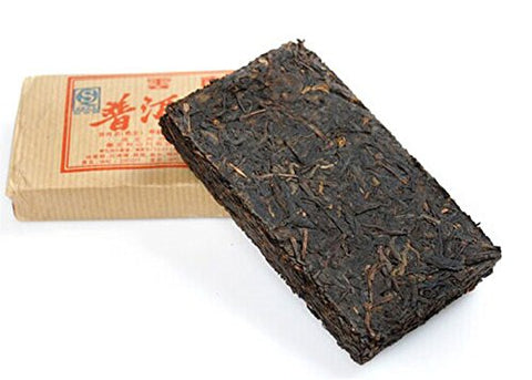 2008yr Xishuang Banna Large Leafed Pu'er Tea Cake Old Tree Stale Tea 500g
