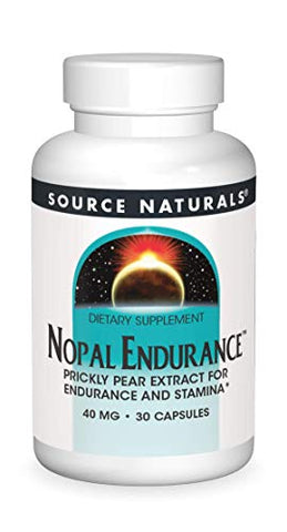 Source Naturals Nopal Endurance, 40mg, 30 Capsules