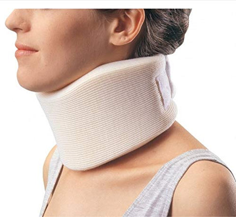 PROCARE Cervical Collar Medium Density Small Contoured Form Fit 3 Inch Height 18-1/2 Inch Length 11 to 16 Inch Circumference 11 to 16 Inch Circumference, 79-83013 - Sold by: Pack of One