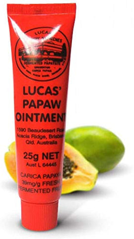 Lucas Papaw Ointment 25g (3 Pack)