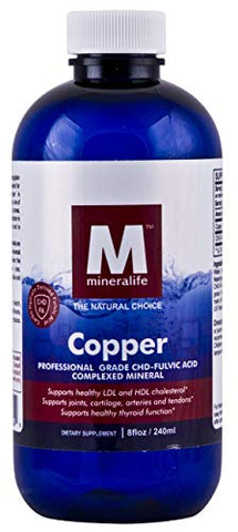 Liquid Ionic Copper (8 Oz - 96 Day Supply)