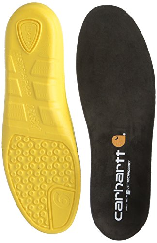 Carhartt Men's Insite Technology Footbed Cmi9000 Insole, Black, 10 M Us