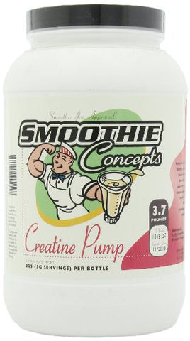 Smoothie Concepts Creatine Pump, 325-Servings, 3.7-Pounds