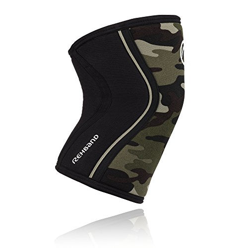 Rehband Rx Knee Support 7751, Camo, Medium