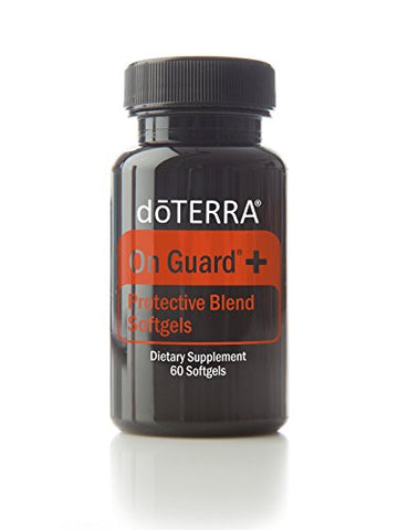 Do Terra   On Guard+ Softgels Essential Oil Protective Blend   60 Softgels
