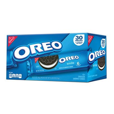 Nabisco Oreo Chocolate Sandwich Cookies (2 oz. 30 pk
