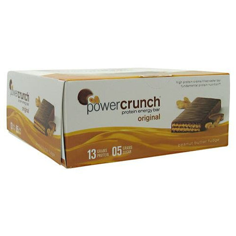 BioNutritional Research Group Power Crunch Peanut Butter Fudge 12 bars