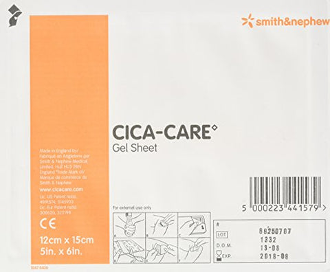 CICA-Care Silicone Gel Sheeting 12cm X 15cm