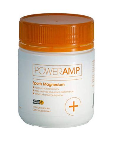 PowerAmp Sports Magnesium | Rapid Absorption | 725mg Magnesium aspartate | Informed-Sport Accredited