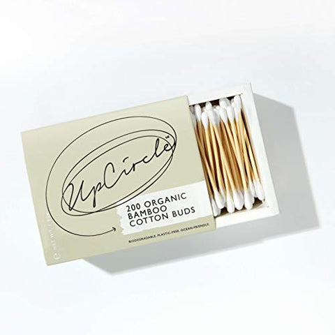 UPCIRCLE Bamboo Cotton Buds - 200 Pieces