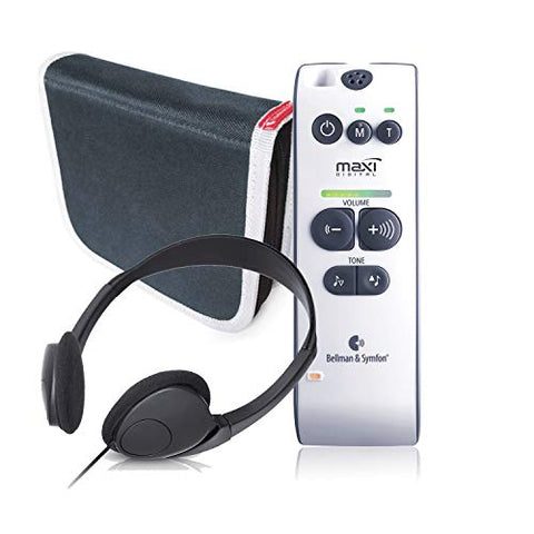 Bellman & Symfon Maxi Personal Sound Amplifier With Headphones For Difficult Hearing Situations   Wi