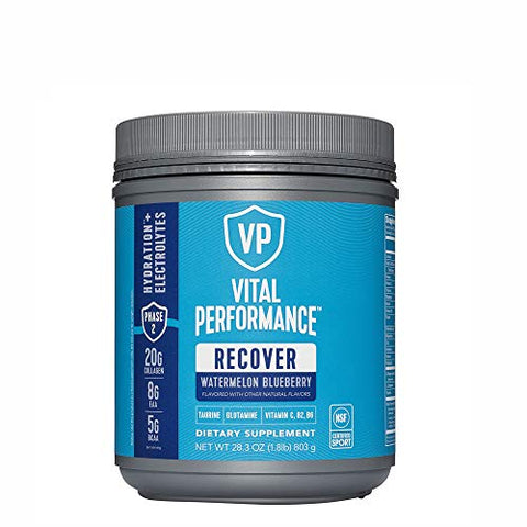 Vital Performance Recover Hydration + Electrolytes - Watermelon Blueberry