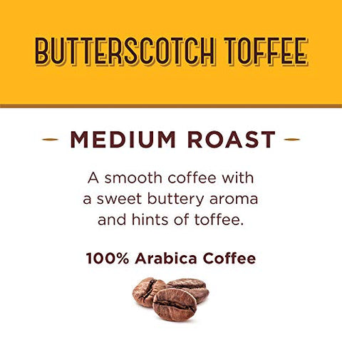 Don Francisco's Butterscotch Toffee Flavored Ground Coffee, 100% Arabica (3 x 12 Ounce Cans)