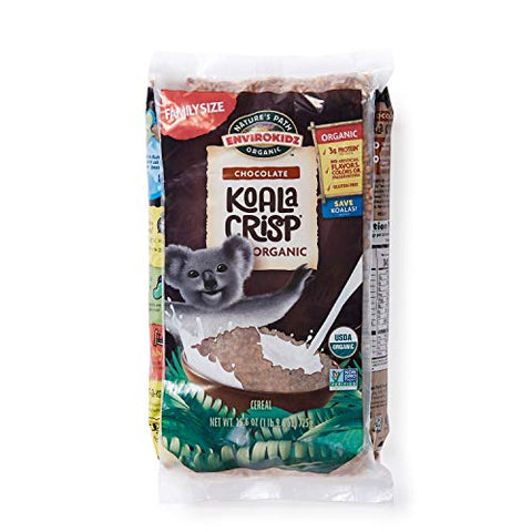 Nature??s Path EnviroKidz Koala Crisp Chocolate Cereal, Healthy, Organic, Gluten-Free, 26 Ounce Bag (Pack of 6)