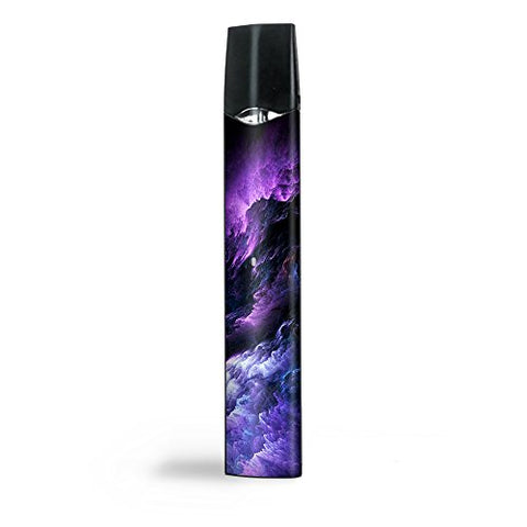 Skin Decal Vinyl Wrap for Smok Infinix Ultra Portable Kit Vape stickers skins cover/ purple storm clouds