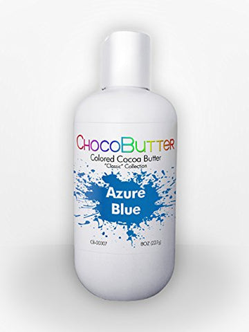 Azure Blue - Colored Cocoa Butter