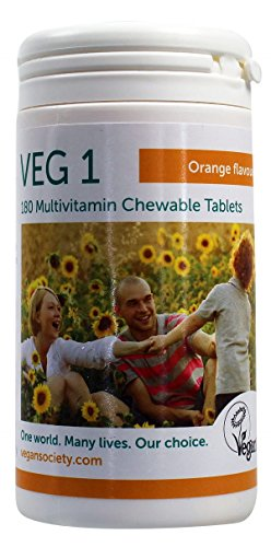 Veg1 Orange Multivitamins and Minerals Tablets - Tablets by Unknown